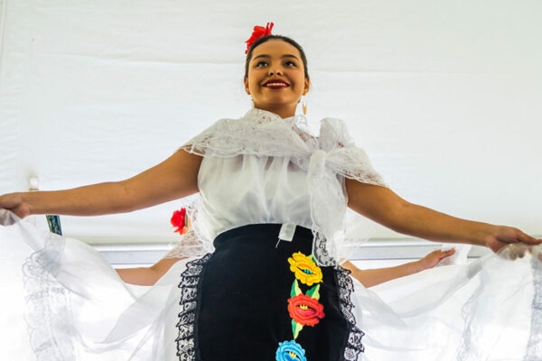 Dancer at UNCG CHANCE Latinx Student Success